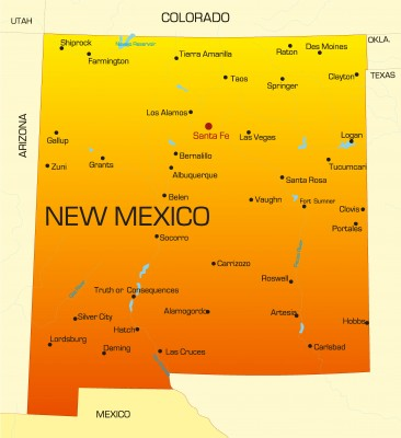 State Of New Mexico 187 Travel