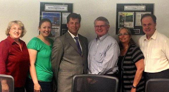 photo of Recent New Mexico 9000 participants with New Mexico MEP Director Ron Burke