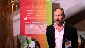 Karl Halpert at the 2013 Sustainable Cosmetics Summit in Hong Kong